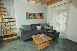 Ferienwohnungen Holder, Biosphärengebiet Schwäbische Alb, Großes Lautertal, Wohnbereich FeWo 5