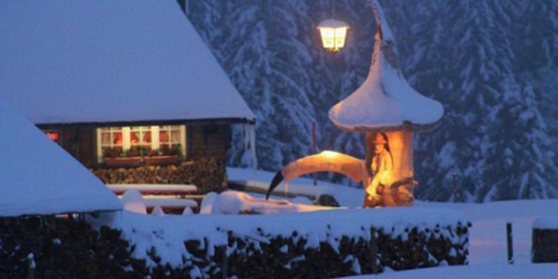 Schneeschuhwanderung: Feierabend-Tour mit Einkehr & Schlittenfahrt