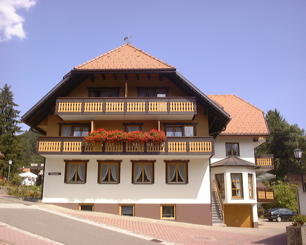 Ferienwohnung Gästehaus Roseneck, (Todtmoos). Appartement (2718179), Todtmoos, Schwarzwald, Baden-Württemberg, Deutschland, Bild 1