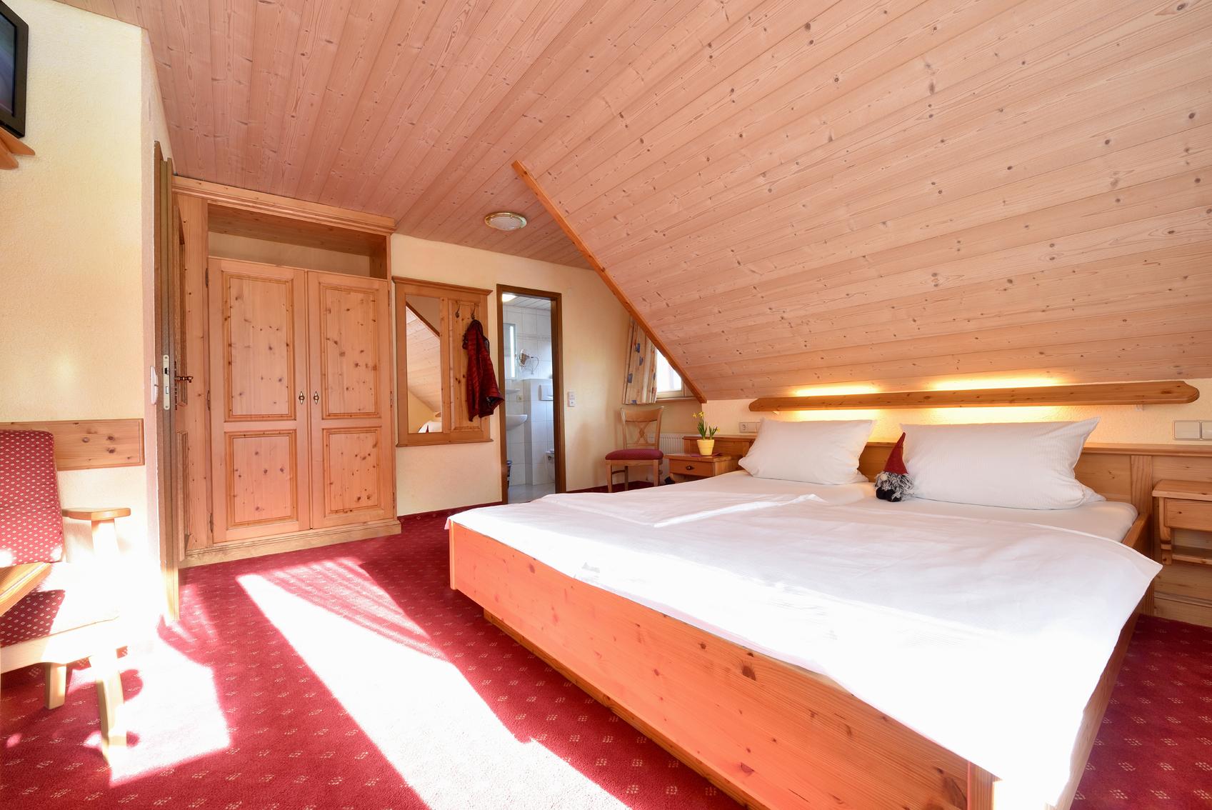 Ferienwohnung Gästehaus Roseneck, (Todtmoos). Doppelzimmer mit Balkon (2718180), Todtmoos, Schwarzwald, Baden-Württemberg, Deutschland, Bild 19