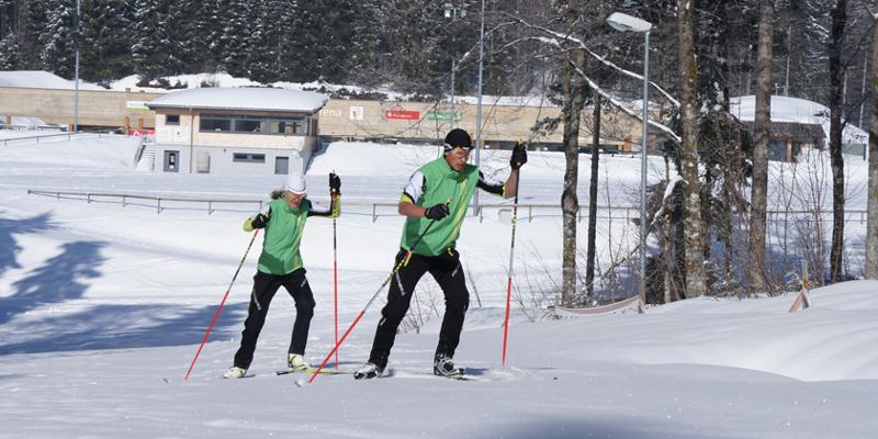 Skilanglauf-Einzelstunde, Privatkurs Skating