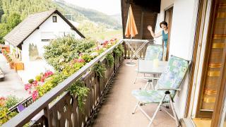 Balkon, Sonnenblume