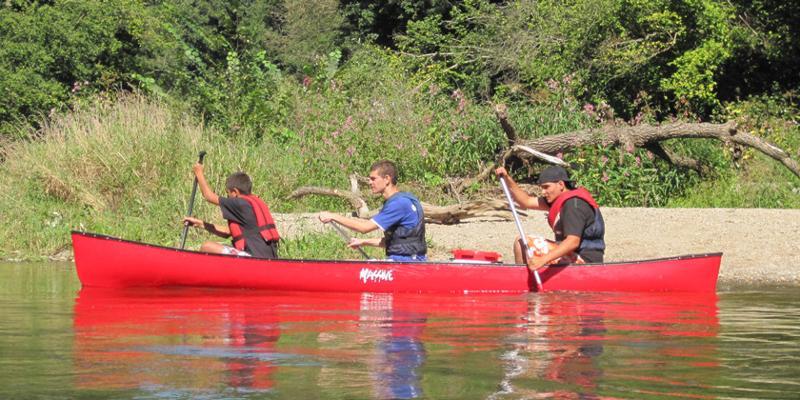Kanutour auf eigene Faust am Altrhein für 3 Personen