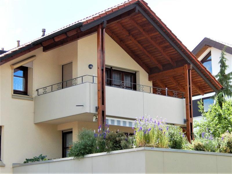 Balkon der Ferienwohnung Neuffen F ***