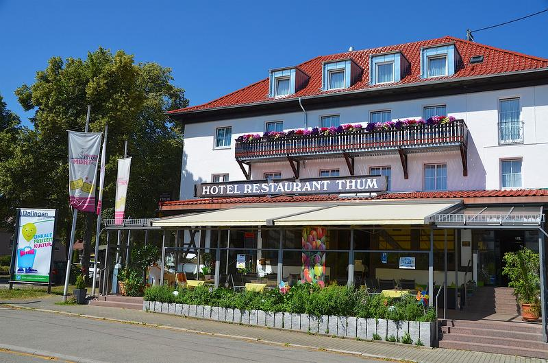 Außenansicht Hotel Thum