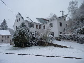 Ferienhaus Engelsdorf mit FeWo Haupthaus im Winter