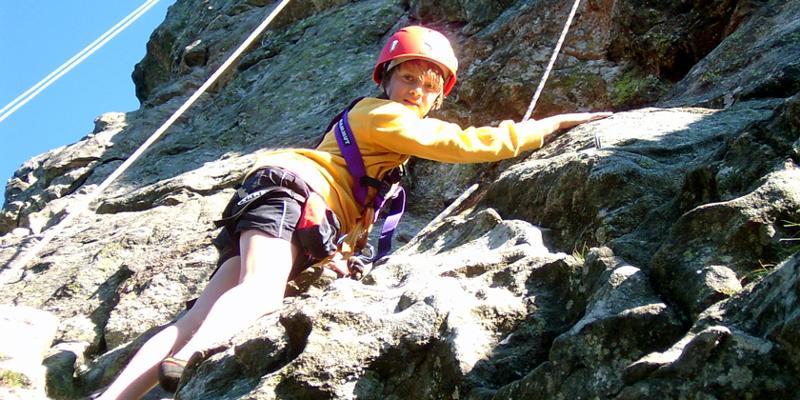 Klettern: Einsteigerkurs am Fels