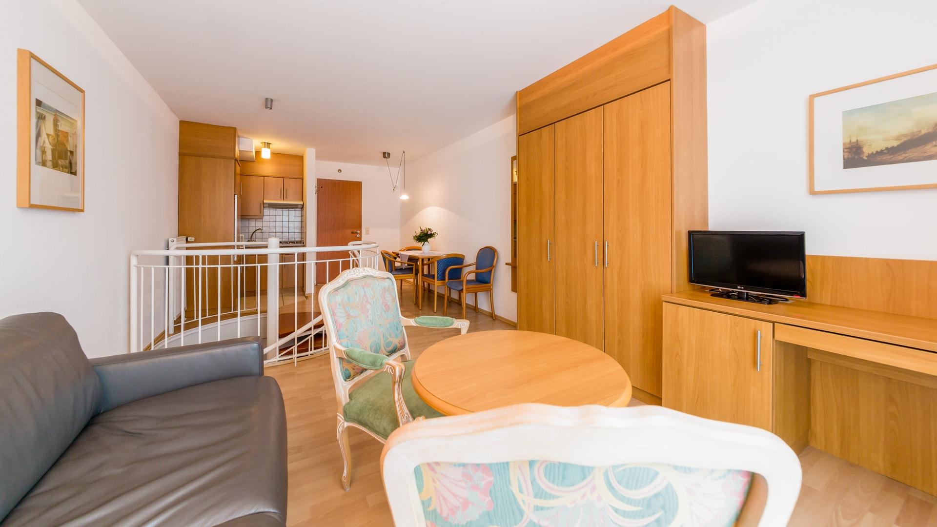 Ferienwohnung Norderney 2 Schlafzimmer 2 Bäder | Residenz Sudwesthorn Norderney Ferienwohnung Typ A 62qm 2