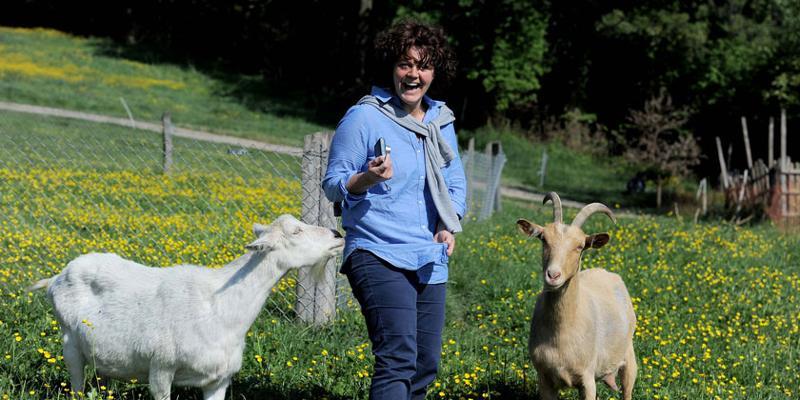 Wanderung: Ziegenwanderung zum Huttenhof mit Bauernvesper
