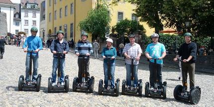 Segway-Tour: Kleine Freiburger Citytour