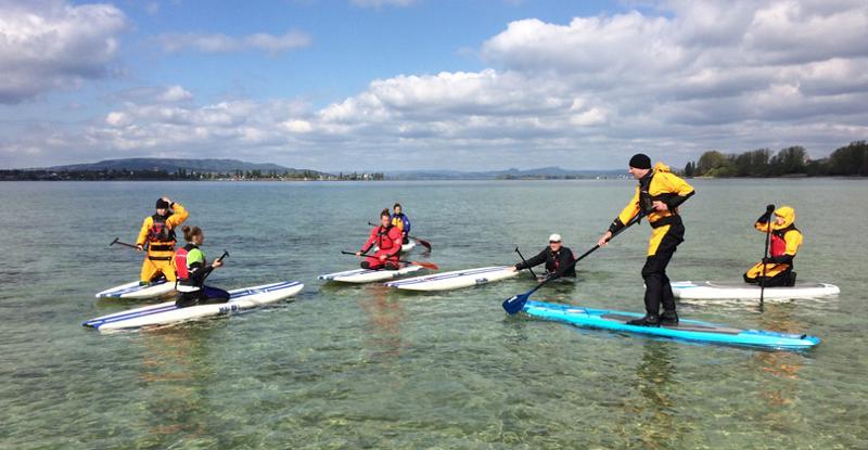 Stand Up Paddling: Schnupperkurs auf dem Überlingersee
