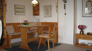 Spieltisch im Wohnzimmer