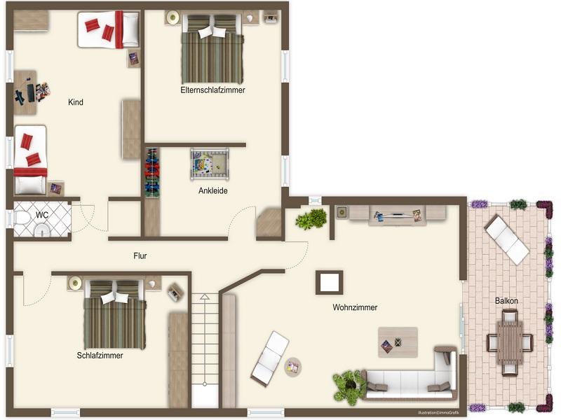 Ferienhaus Sieger, (Salem). Ferienhaus, 170 qm, 3 Schlafzimmer für ...