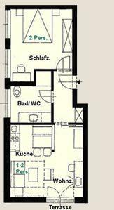 Holiday apartment Ferienanlage Alt Reddevitz, (Alt Reddevitz). Ferienwohnung Pankow, 50 qm, 1 Schlafzimmer,  (1029650), Alt Reddevitz, Rügen, Mecklenburg-Western Pomerania, Germany, picture 21