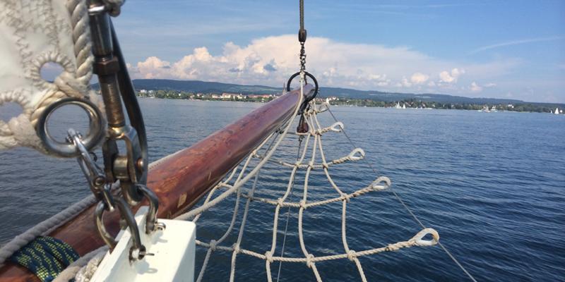 Segeln: Schnuppersegeln auf dem Untersee