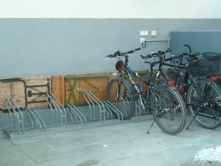 Unterstellmöglichkeit für Fahrräder