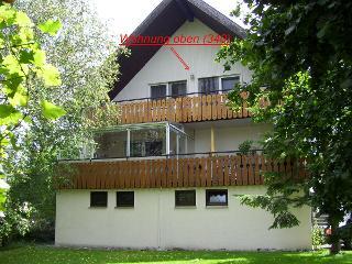 Haus und Balkone