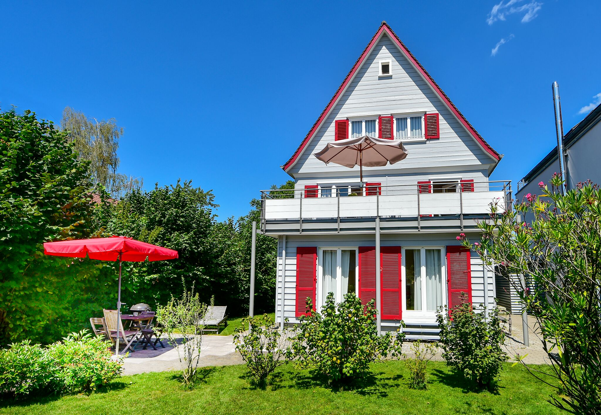 Ferienhaus Villa Kunterbunt, (Lindau am Bodensee). Ferienhaus am Bodensee