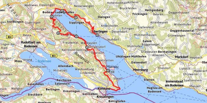 karte bodensee überlingen Bodensee überlingen Karte | goudenelftal
