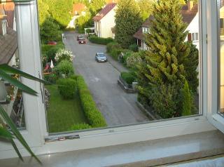 Aussicht aus der Wohnung
