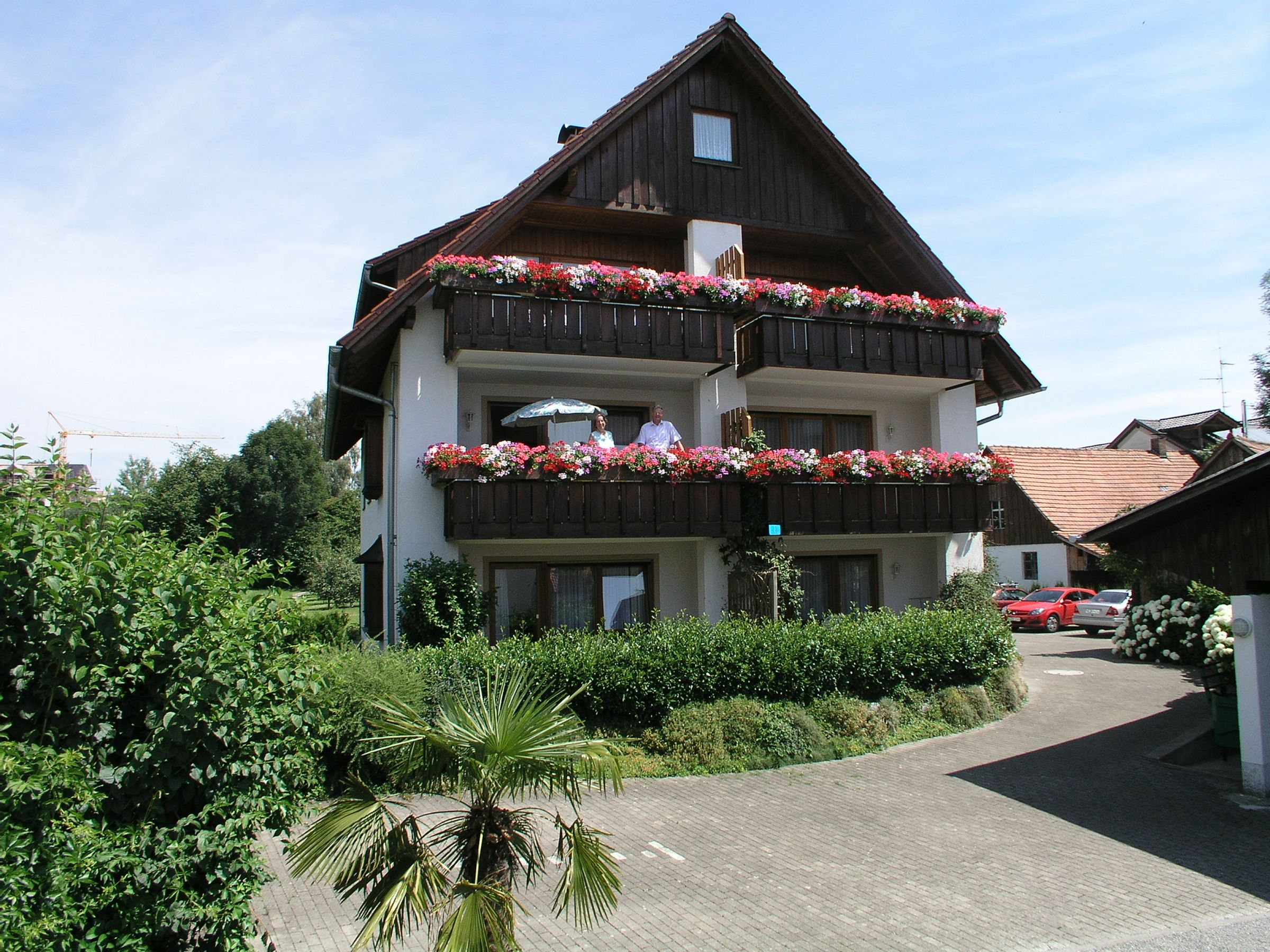 Gästehaus Gutensohn, (Wasserburg (Bodensee)). Ferienwohnung am Bodensee