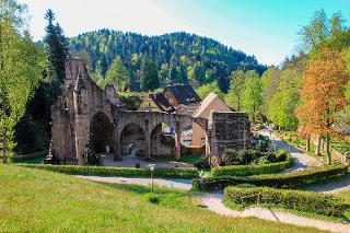 Klosterruine  und Tal von Allerheiligen