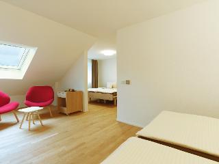 4-Bett Deluxe Zimmer mit Gartenblick