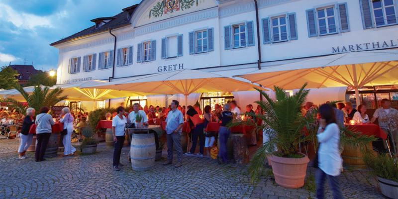 Kulinarischer Abendstreifzug in vier Gängen durch Überlingen