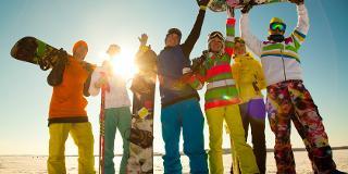 Snowboardkurs am Feldberg / Urheber: Black Forest Magic / Rechteinhaber: © Black Forest Magic