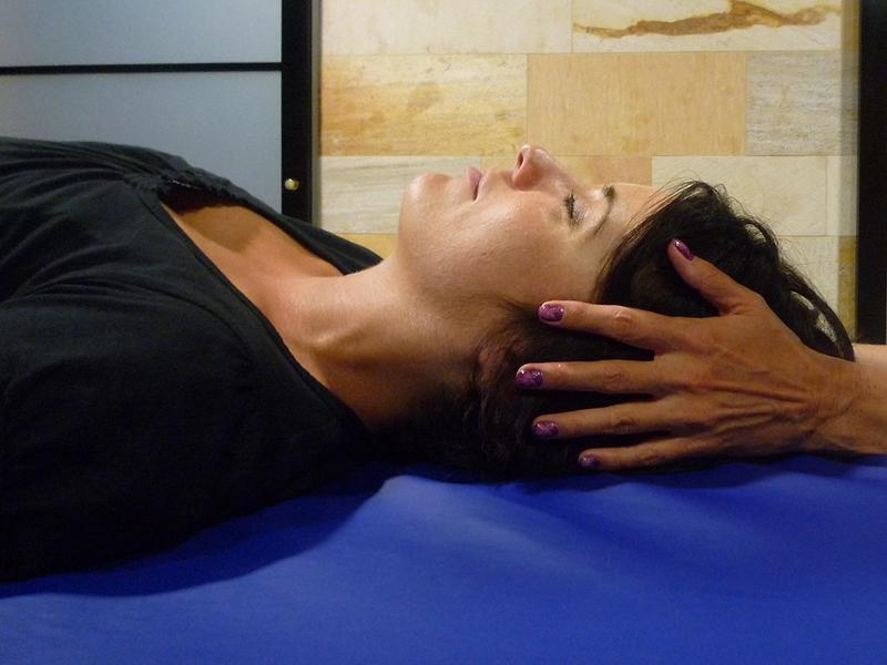 Massage des points vitaux marma