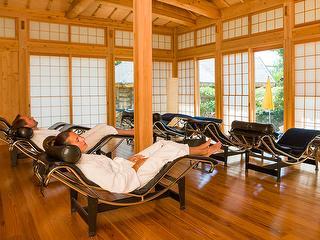 Japanese relaxing house in the Sauna Paradise / Author: Kur und Bäder GmbH Bad Krozingen / Copyright holder: © Kur und Bäder GmbH Bad Krozingen