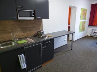 Koch- und Wohnbereich Studio