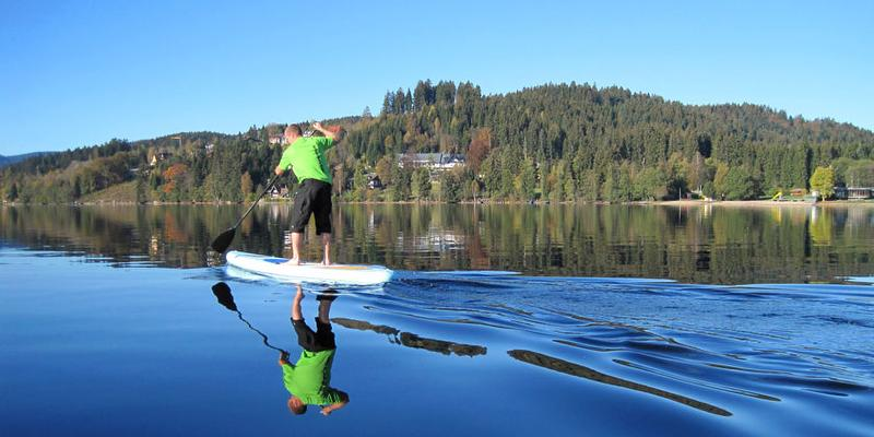 Schnupperkurs Stand Up Paddling - SUP am Titisee