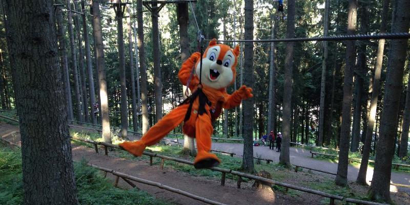 Kinder-Schnupperkurs im Action Forest Kletterwald