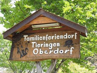 Schild am Eingang