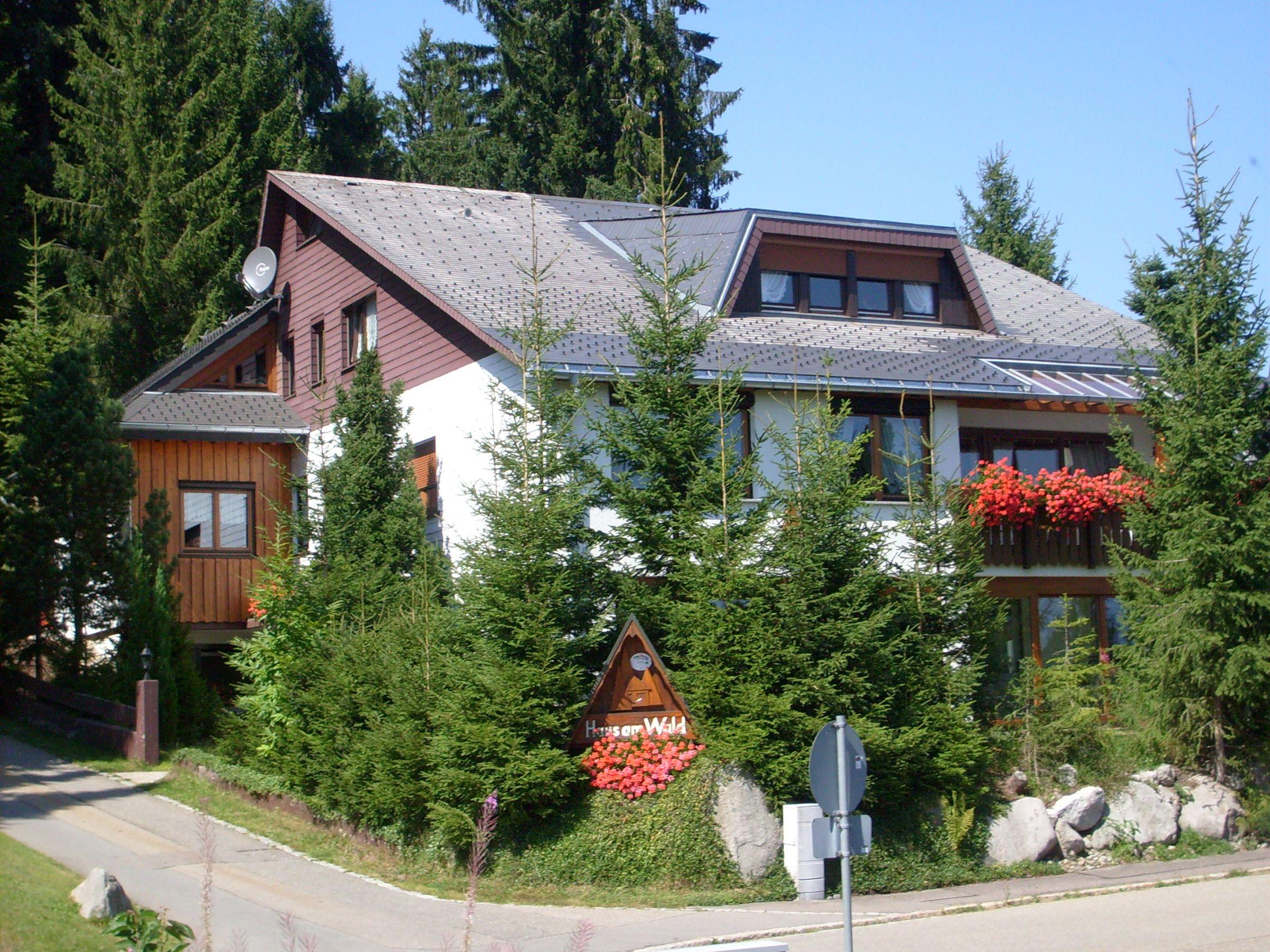 Haus am Wald, (Schönwald). Ferienwohnung 4, 1 Ferienwohnung  Schwarzwald