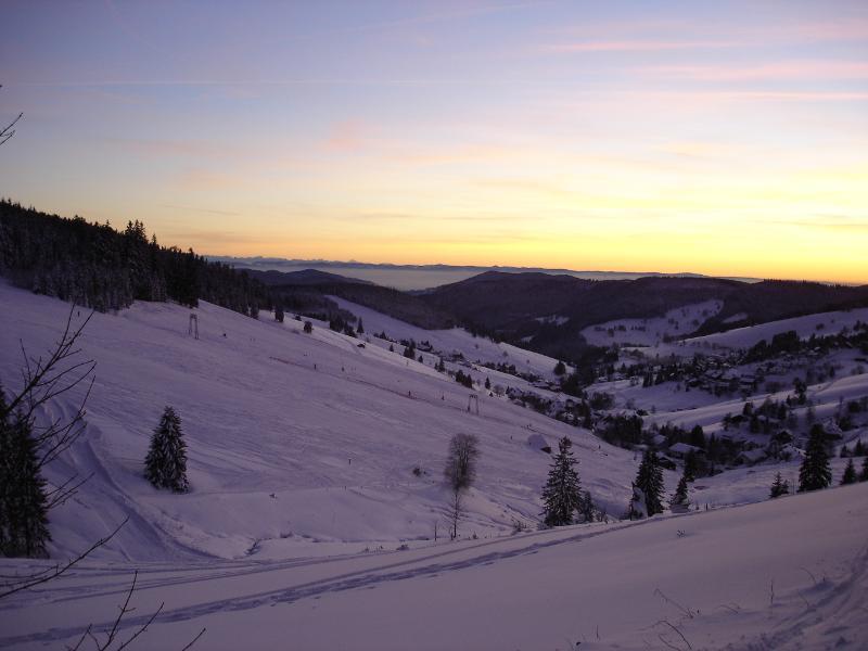 Skifahren am Stübenwasenlift