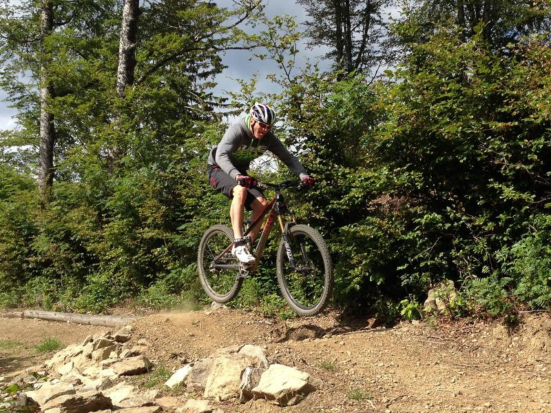Mountainbiken im Sommer