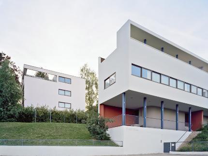 UNESCO-WELTERBE IN DER WEISSENHOFSIEDLUNG