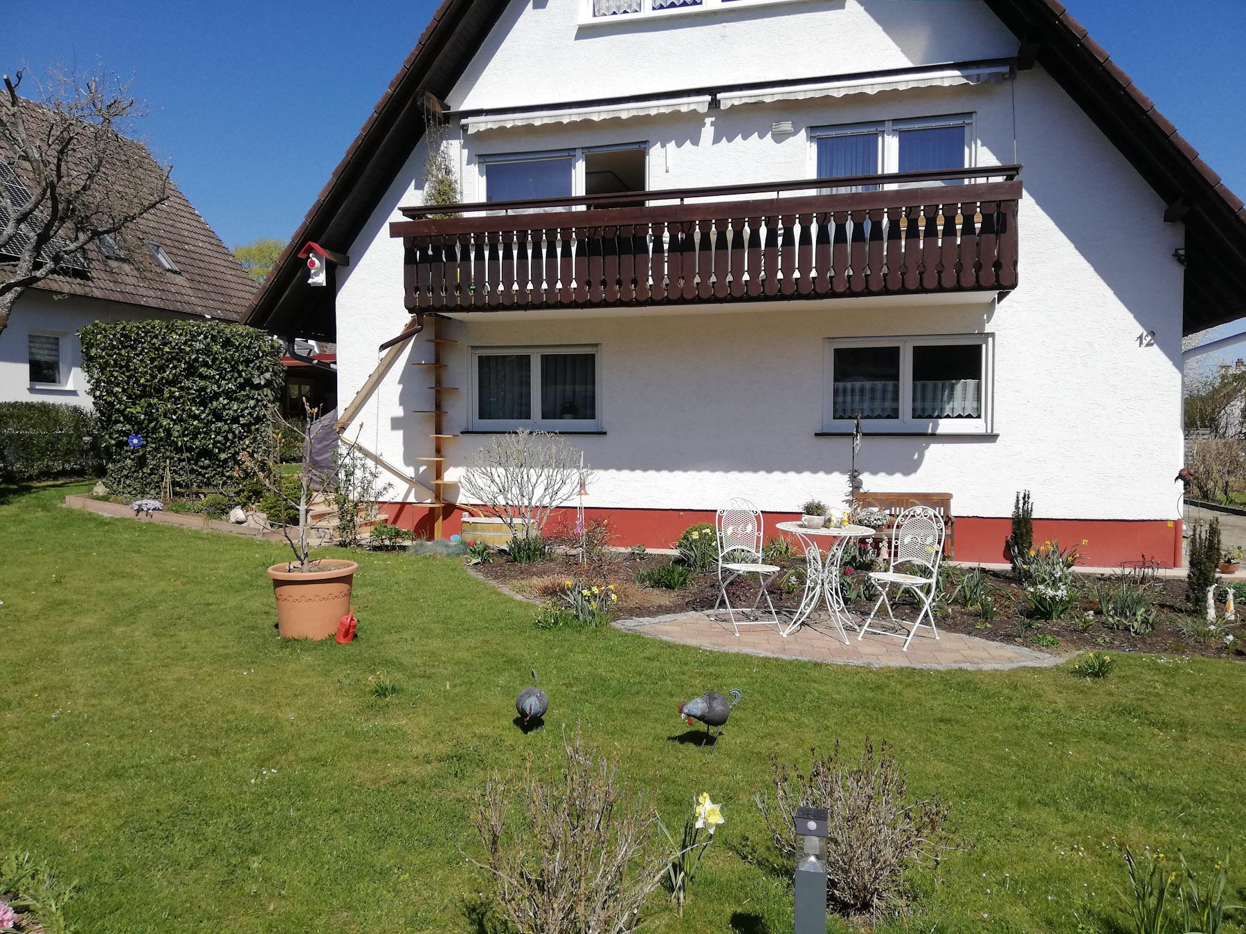 Ferienwohnung Lemke, (Donaueschingen). Typ C, 95qm, 2 Schlafzimmer, Terrasse mit Liegewiese, max. 6 Pers (2792819), Donaueschingen, Schwarzwald, Baden-Württemberg, Deutschland, Bild 4