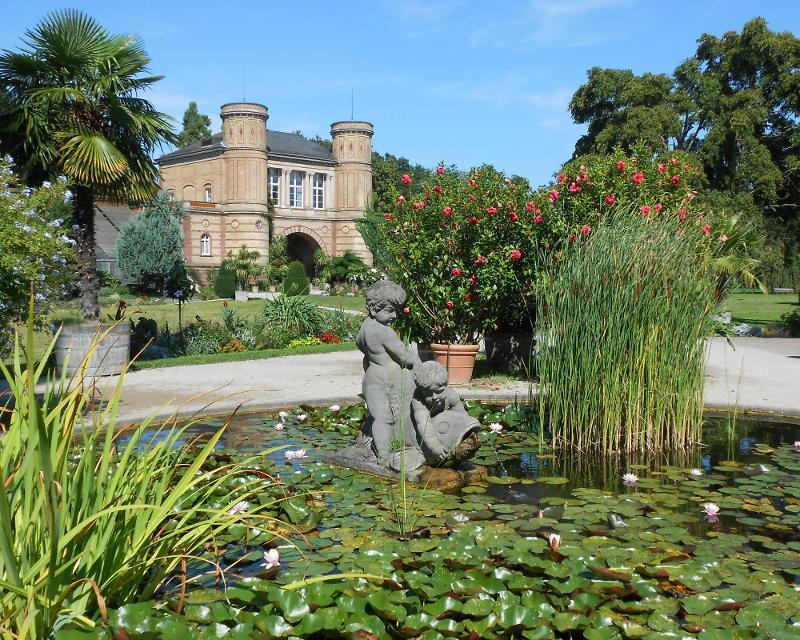 Merveilleux Schlossgarten Und Botanischer Garten