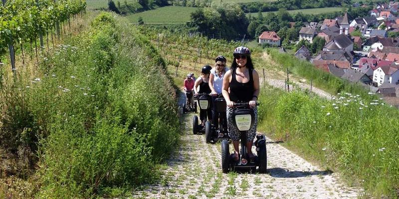 Segway-Tour: Rund um den Kaiserstuhl