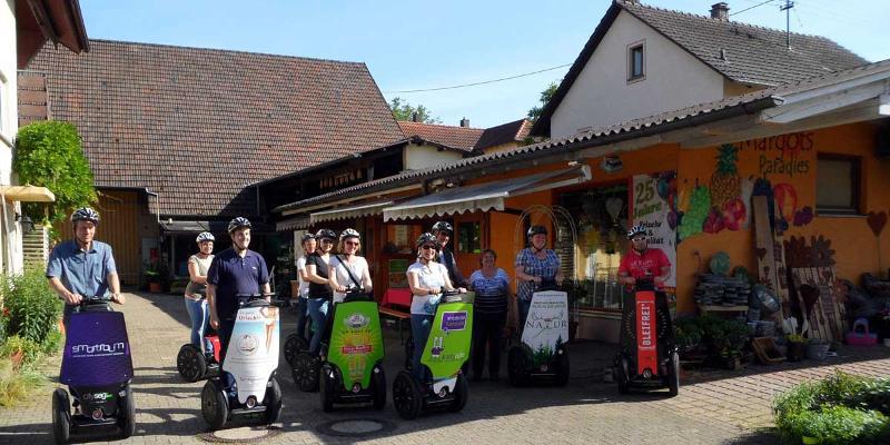 Segway-Tour: Hofladen-Tour 2.0