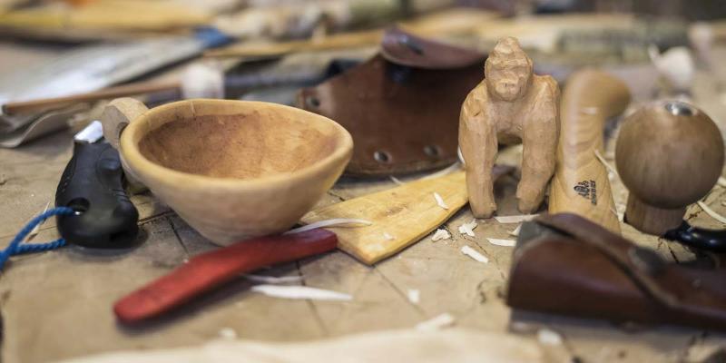 5-Tages Holz-Schnitzkurs in der Ortenau