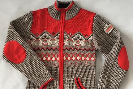 125 Jahre Skilauf-Kollektion - Damen Strickjacke