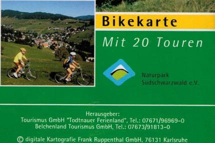 Auf dem Mountainbike zwischen Feldberg und Belchen