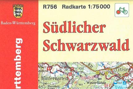 Radkarte Südlicher Schwarzwald