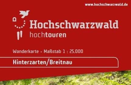 Wanderkarte Hinterzarten-Breitnau