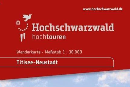 Wanderkarte Titisee-Neustadt
