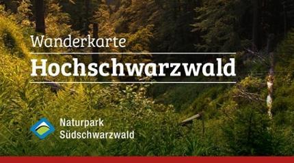 Wanderkarte Hochschwarzwald